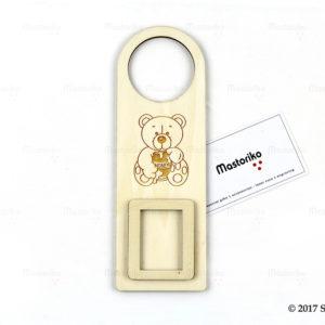 Κρεμασταράκι πόρτας Door Hanger με φωτογραφοθήκη - Μπομπονιέρες Βάπτισης - Μπομπονιέρες Γάμου - Δώρα για γενέθλια - παιδικά δωράκια - Δώρα για βάπτιση - Δώρα για επιχειρήσεις - Διακόσμηση για βάπτιση - Γάμος - Βάπτιση - Γενέθλια - Μαστορικό - Κύπρος