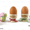 Ξύλινες αυγοθήκες Happy day με όνομα! Πασχαλινό δώρο για παιδιά - Κύπρο - Ελλάδα - S.M. Mastoriko - Egg Cup with Name Engraving EGG-C2 (1)