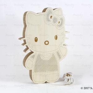 Hello Kitty - Ξύλινο Αμπαζούρ τοίχου Δωματίου -Μπομπονιέρες Βάπτισης - Μπομπονιέρες Γάμου - Δώρα για γενέθλια - παιδικά δωράκια - Δώρα για βάπτιση - Δώρα για επιχειρήσεις - Διακόσμηση για βάπτιση - Γάμος - Βάπτιση - Γενέθλια - Μαστορικό - Κύπρος