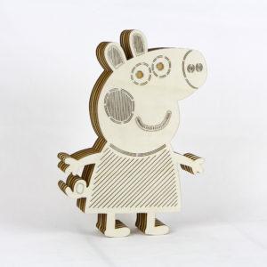 Peppa Pig Αμπαζούρ τοίχου Δωματίου -Μπομπονιέρες Βάπτισης - Μπομπονιέρες Γάμου - Δώρα για γενέθλια - παιδικά δωράκια - Δώρα για βάπτιση - Δώρα για επιχειρήσεις - Διακόσμηση για βάπτιση - Γάμος - Βάπτιση - Γενέθλια - Μαστορικό - Κύπρος