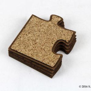 Ξύλινα Πατάκια με φελλό σε σχήμα πάζλ - Wooden Coasters set of 4 - Μπομπονιέρες Βάπτισης - Μπομπονιέρες Γάμου - Δώρα για γενέθλια - παιδικά δωράκια - Δώρα για βάπτιση - Δώρα για επιχειρήσεις - Διακόσμηση για βάπτιση - Γάμος - Βάπτιση - Γενέθλια - Μαστορικό - Κύπρος