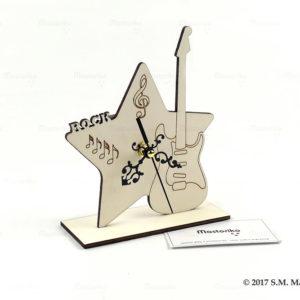 Ρολόι κομοδίνου αστέρι κιθάρα μουσική - Θέμα Rock - Μπομπονιέρες Βάπτισης - Μπομπονιέρες Γάμου - Δώρα για γενέθλια - παιδικά δωράκια - Δώρα για βάπτιση - Δώρα για επιχειρήσεις - Διακόσμηση για βάπτιση - Γάμος - Βάπτιση - Γενέθλια - Μαστορικό - Κύπρος