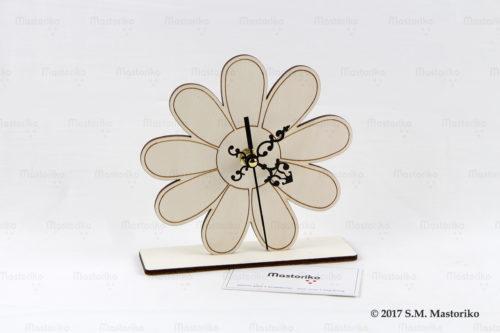 Ρολόι λουλούδι ξύλινο - Μπομπονιέρες Βάπτισης - Μπομπονιέρες Γάμου - Δώρα για γενέθλια - παιδικά δωράκια - Δώρα για βάπτιση - Δώρα για επιχειρήσεις - Διακόσμηση για βάπτιση - Γάμος - Βάπτιση - Γενέθλια - Μαστορικό - Κύπρος