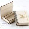 Ξύλινο κουτί με λογότυπο εταιρίας - Wooden box book style - Διαφημιστικά δώρα για εταιρίες - Μαστορικό - Κύπρος