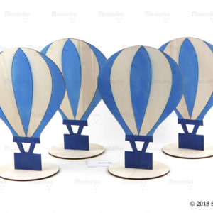 Διακοσμητικά Τραπεζιών για βάπτιση με θέμα Αερόστατο - Table Arrangments - Centerpieces Aerostat - S.M. Mastoriko - Μαστορικό - Κύπρος