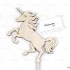 Διακόσμηση τραπεζιών Θέμα μονόκερος -Centerpiece Unicorn Stick Topper - S.M. Mastoriko STICK-A3 (1)