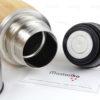 Δώρα για νεογέννητα - Wooden Bamboo Thermos 400ml - Ξύλινος Θέρμος για ζεστό νερό 400ml - Παιδικά - Βρεφικά είδη - High Quality 304 Stainless Steel- S.M. Mastoriko