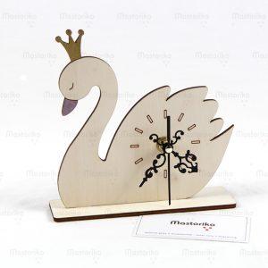 Ρολόι Κομοδίνου Κύκνος - Μπομπονιέρα Βάπτισης Ρολόι - Μπομπονιέρα Κύκνος - Κύπρο - Ελλάδα S.M. Mastoriko Desk Clock CLO-DE21