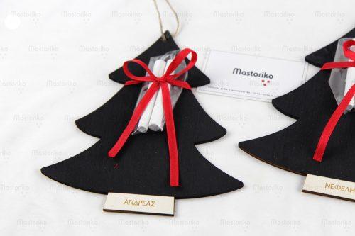 Μαυροπίνακας σε σχήμα δέντρο, Χριστουγεννιάτικα δώρα - Κύπρο - Ελλάδα - S.M. Mastoriko BLACK-CHR1 (3)