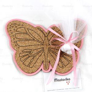 Σουβέρ πεταλούδα - πατάκι για ζεστά κουζίνας - S.M. Mastoriko Coaster COA-22FW