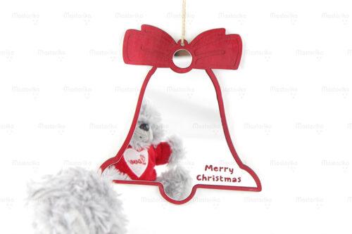 Καθρεφτάκι Δωματίου Καμπάνα - Χριστουγεννιάτικα Δώρα - Κύπρος - Ελλάδα - S.M. Mastoriko MIR-SH20